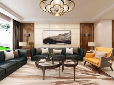 沈阳尚景新世界 港式 170㎡ 四室两厅两卫装修案例图